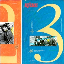 """Buzzcocks """"Parts One, Two, Three"""". I.R.S. Records, 1980"""