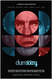 Posterart for Dumfuxx at La Luz De Jesus, December 3, 2010