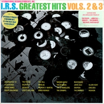 I.R.S. Greatest Hits, Vols. 2 and 3 album cover art, 1981