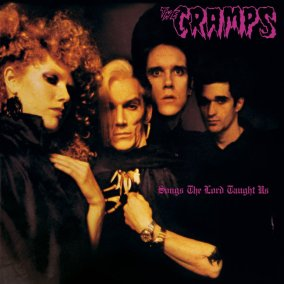 """The Cramps, """"Psychedelic Jungle"""" LP cover art"""