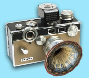 Photo of a camera