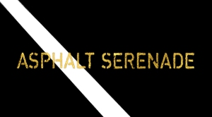 Graphic of title logo for Asphalt Serenade