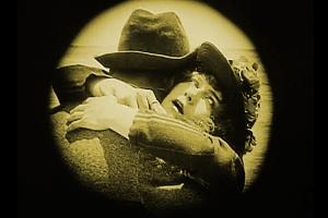 Still from a silent movie