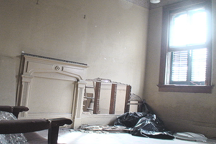 photo of a room under rehab.