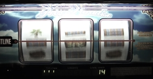Photo of a slot machine