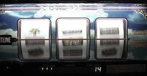 Photo of a slot machine