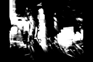 Abstract photo of Times Square