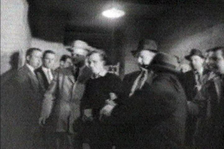 Image of Lee HArvey Oswald shot by Jack Ruby